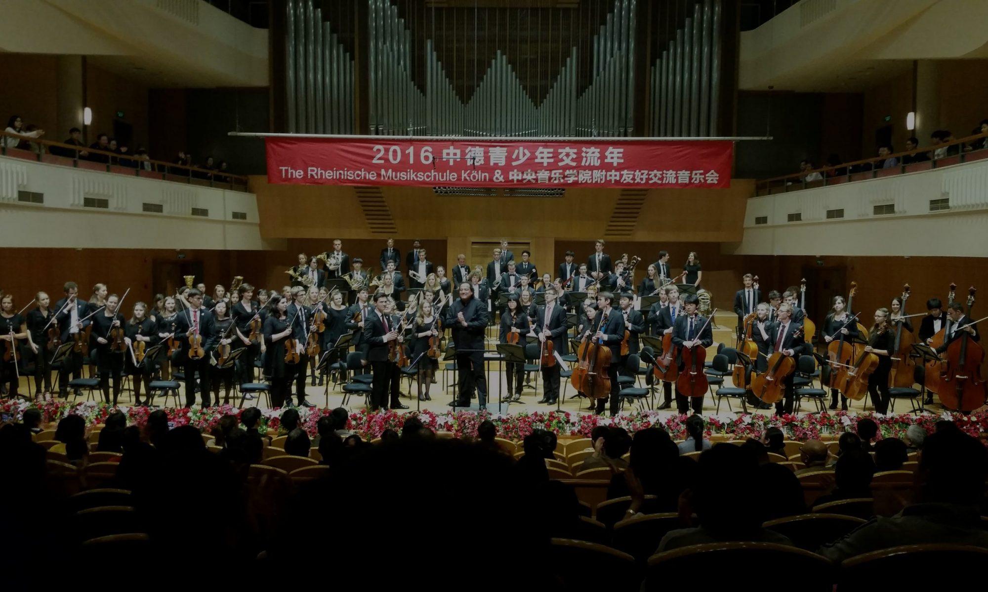 Jugendsinfonieorchester der rheinischen Musikschule Köln
